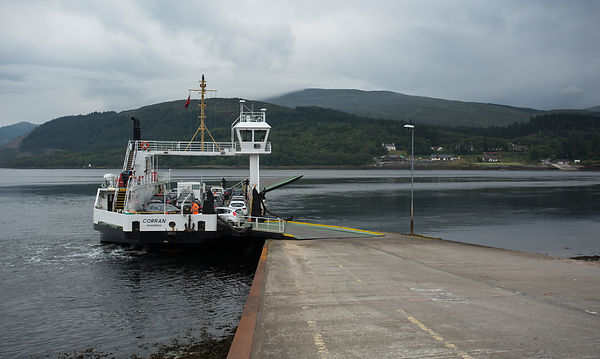 Corran ferry from the Ardgour side