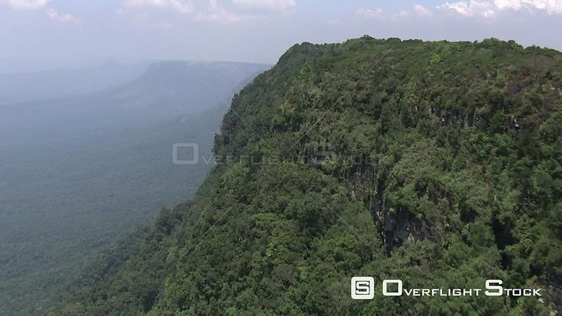 Aerial shot of a cliff Nelspruit Mpumalanga South Africa