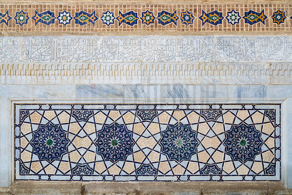 Architectural Details at Bibi Khanum Mosque