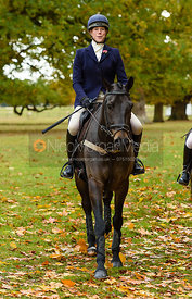 Sophie Lane at Fitzwilliam Hunt Opening Meet 2018.