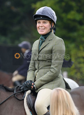Harriet Gibson at the meet at Barleythorpe 6/12
