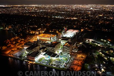 Aerial USA Florida Miami Mercy Hospital