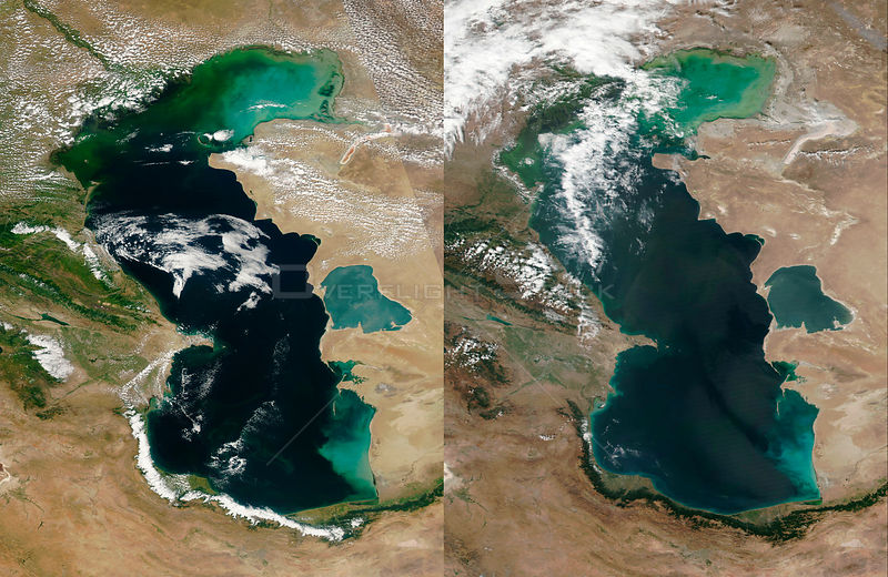 Climate Change causing Caspian Sea to Evaporate - Scientists
