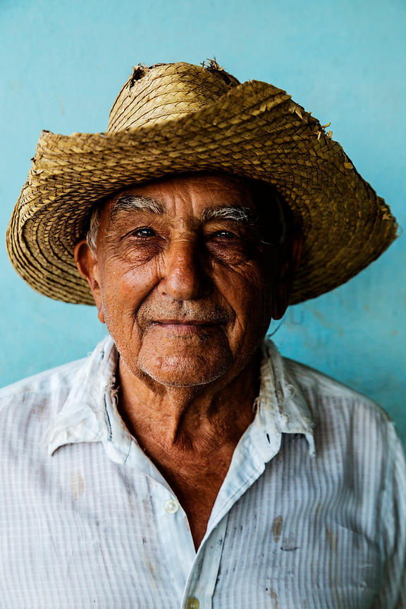 Portrait of a Cuban Farmer