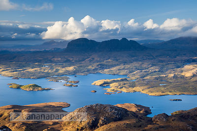 Suilven and Loch Sionascaig - BP3093B