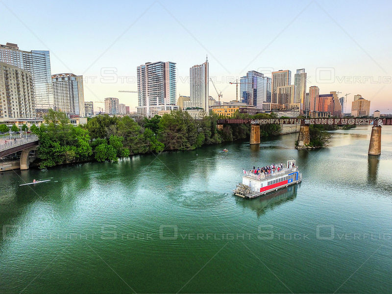 Ladybird Lake Tour Boat and Colorado River Austin Texas