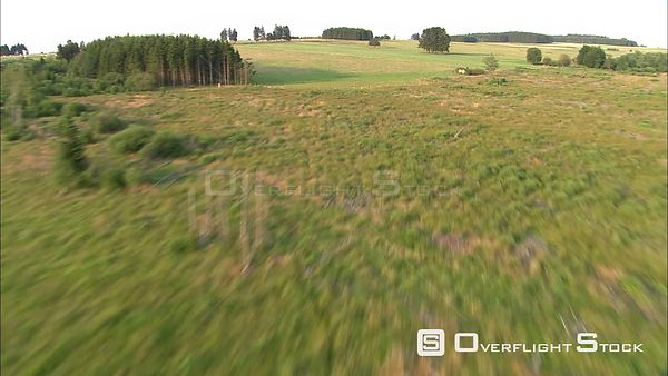 Low flight over Belgian High Fens
