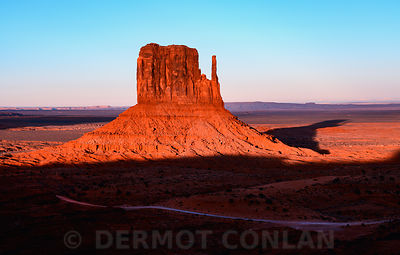 West Mitten, Monument Valley, AZ, USA