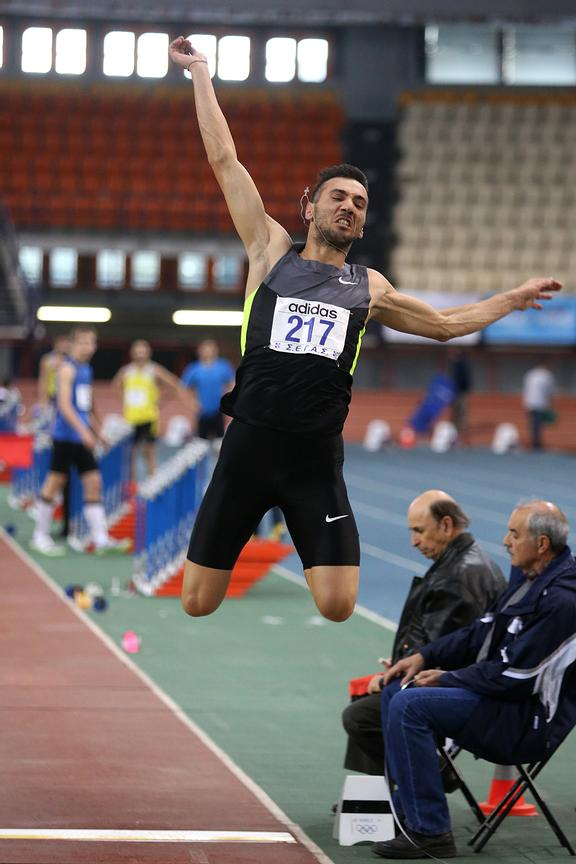 2013 Athens Indoors Championships, day 01