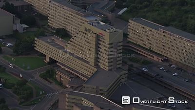 Aerial shot of the UNISA campus in Pretoria. Pretoria Gauteng South Africa