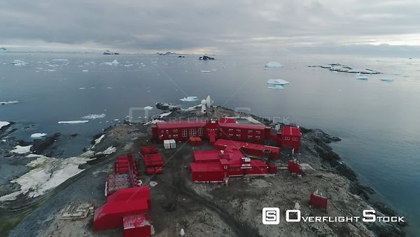 Bernardo O'Higgins Chilean Scientific Base, Rada Covadonga Bay Antarctica