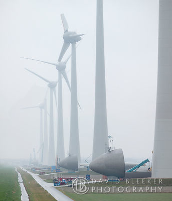 Zuidwester wind farm - Construction