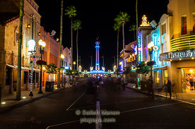 Night Scene, Hollywood Studios, Orlando, Florida