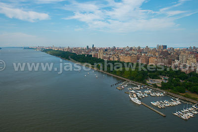 The Hudson River and Riverside Park, Manhattan