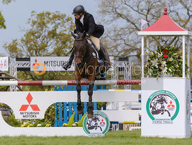Izzy Taylor and THISTLEDOWN POPOSKI - Show Jumping phase, Mitsubishi Motors Badminton Horse Trials 2014
