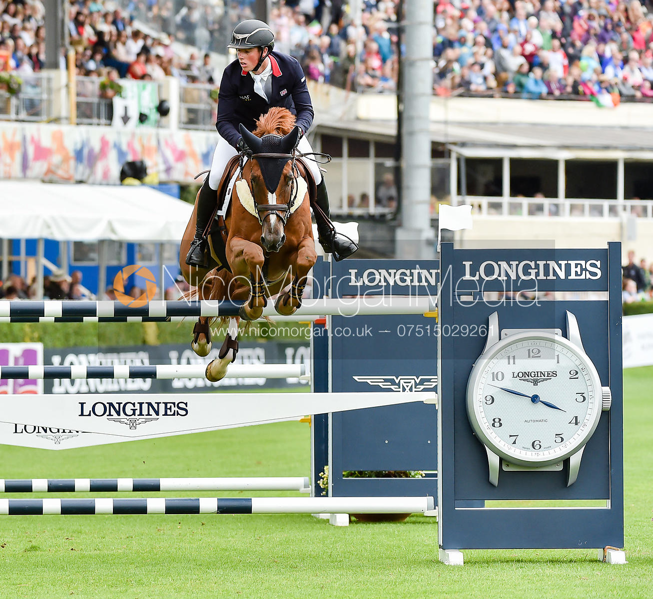 Tim Wilks and QUELBORA MERZE - FEI Nations Cup, Dublin Horse Show 2017