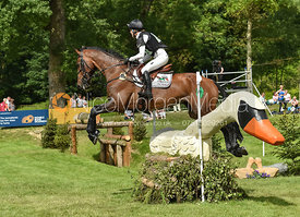 Dee Hankey and CHEQUERS PLAYBOY, Equitrek Bramham Horse Trials 2018