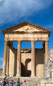The Capitol of Dougga; Tunisia; Portrait