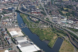 Manchester view of the old Pomona docks