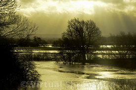 River Severn in flood