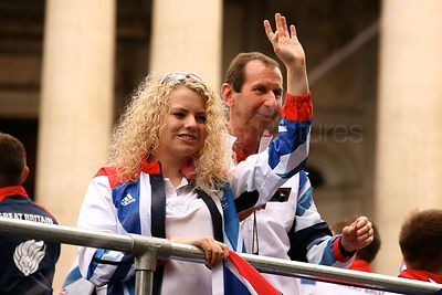 Team GB and Paralympics GB Athletes Parade Through the Streets of London