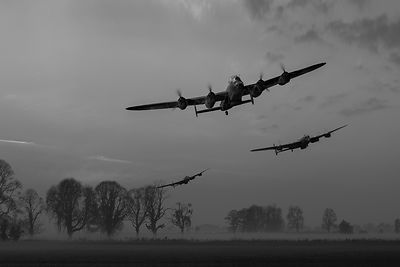 Dambusters departing B&W version