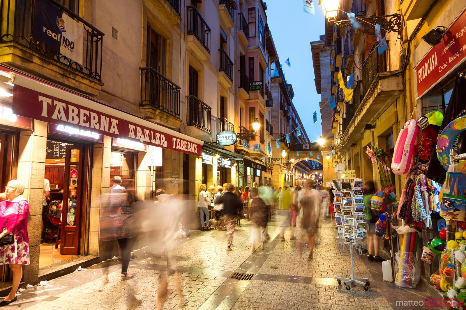 Matteo Colombo Travel Photography Pedestrian Street In The