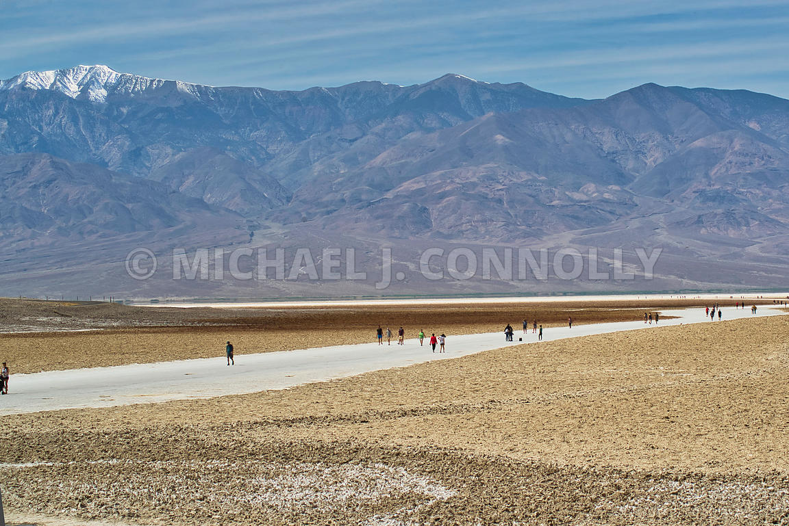 Salt Flats 2 (H)- Bad Water Basin, Death Valley