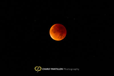 Super Blood Moon of  September 27,  2015