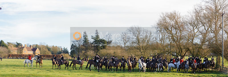 The Belvoir Hunt at Waltham House