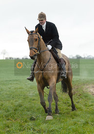 Ashley Bealby at Knossington Spinney - The Fitzwilliam Hunt visit the Cottesmore at Burrough House