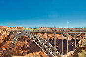 Glenn Canyon Dam Bridge- Page, Arizona