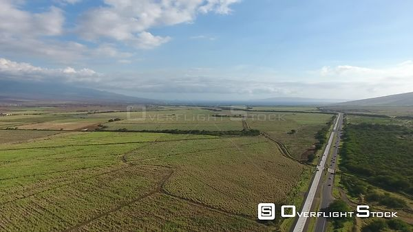 Highway Maui Hawaii Drone Video