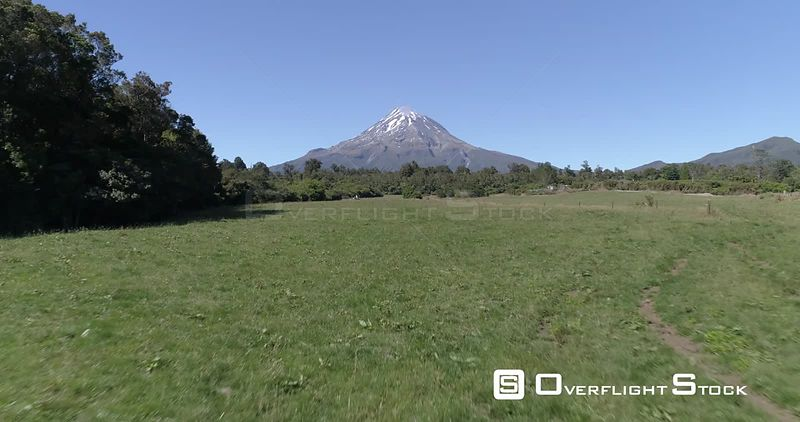 Drone Video Taranaki Mount Egmont New Zealand