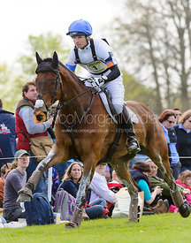 Francis Whittington and Sir Percival III - Cross Country - Mitsubishi Motors Badminton Horse Trials 2013.