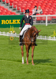 Lucy Wiegersma and Woodfalls Inigo Jones - Dressage