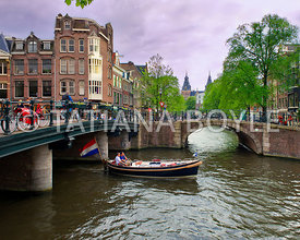 Boats on Prinsengracht