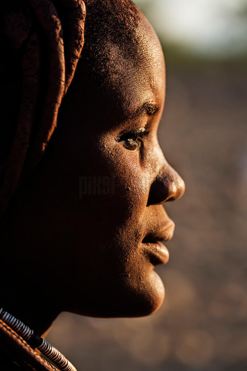Portrait of a Himba Maiden
