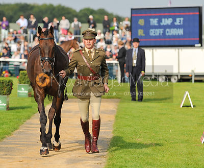 Geoff Curran and The Jump Jet - 2nd Inspection - Burghley 2010