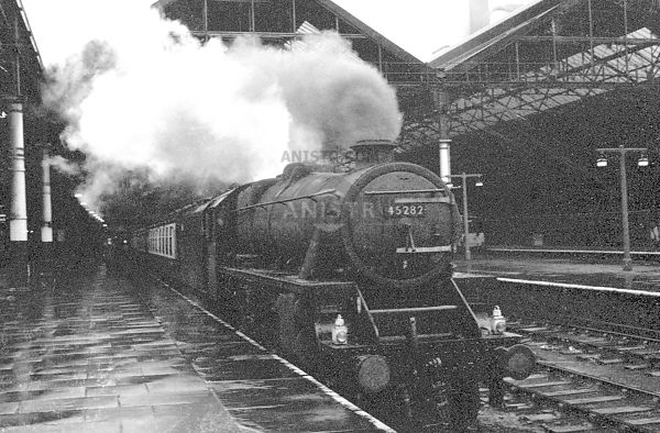 Steam loco Black 5 45428 Liverpool