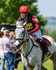 Sophie Rushton and HOORAY HENRY II, Fairfax & Favor Rockingham Horse Trials 2018