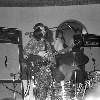 Jethro Tull in 1970 at the Aragon Ballroom, Chicago