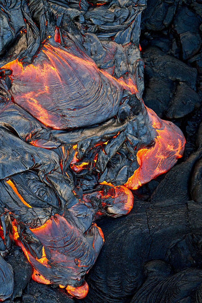 Lava flow on Hawaii's Big Island