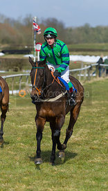 Mr Fezziwig (A. Yoxall) - The Belvoir at Garthorpe 30th March 2013.