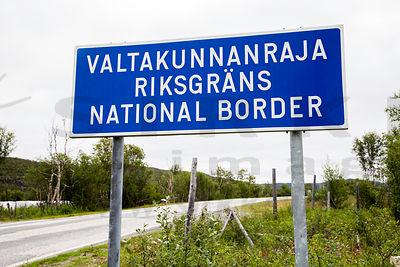 Border between Norway and Finland