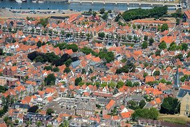 Luchtfoto - Harlingen Centrum