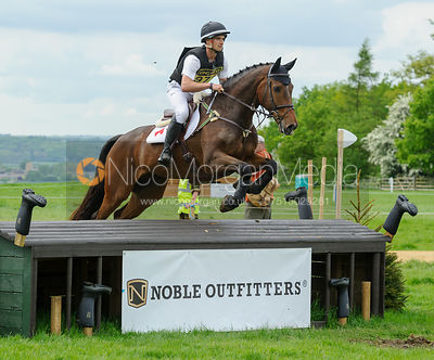 James Avery and LEGALAND COOLEY - Rockingham Castle International Horse Trials 2016