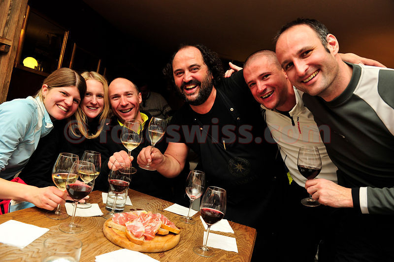 Pava's Wine Bar in Saint Moritz