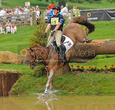 KARDINAL and Martyn Swanepoel, Bramham Horse Trials, 2010