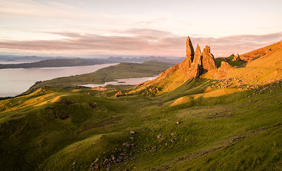 The Old Man of Storr summer sunrise